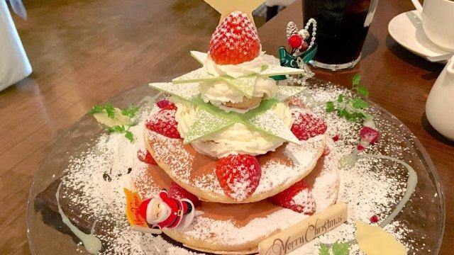 クリスマスはパンケーキで!この時期だけの限定パンケーキ5選