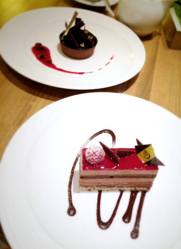濃厚クリームがたまらない!ショコラティエのパンケーキ@赤坂