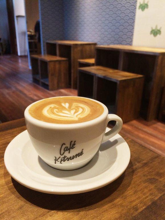 青山に茶室?カフェキツネの極上コーヒーとフレンチトースト