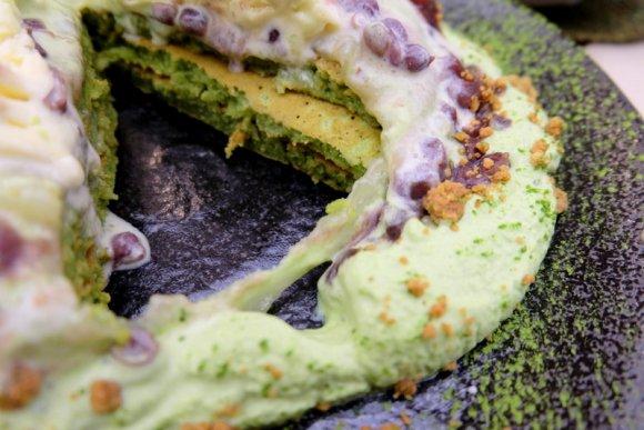 もちもち食感に夢中!ハワイから逆輸入した最高に美味しい抹茶パンケーキ