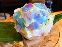 かき氷が人気のお店の新作!梅雨シーズン限定の『紫陽花』がかわいすぎる