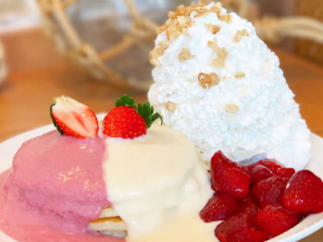 川崎店でしか味わえない!エッグスンシングスの「Ekahiパンケーキ」