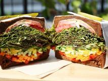 代官山のオシャレカフェで野菜たっぷりの最強サンドイッチを♪