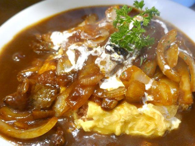神田駅徒歩10秒!『美味卵家』のオムハヤシライスは感無量な美味さ!