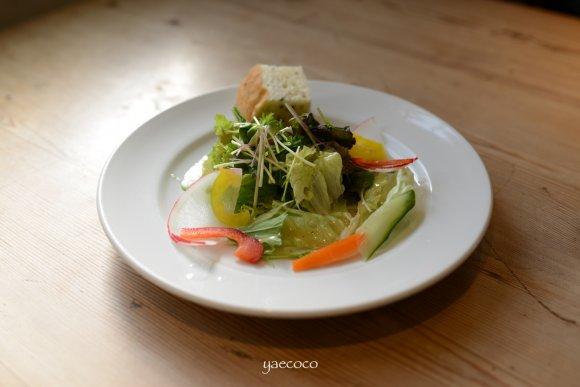 表参道のナチュラルイタリアンで有機野菜のヘルシーランチ