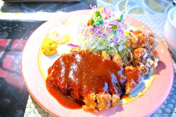 洋食なのに最強卵かけご飯!赤坂でデミグラスかつランチ