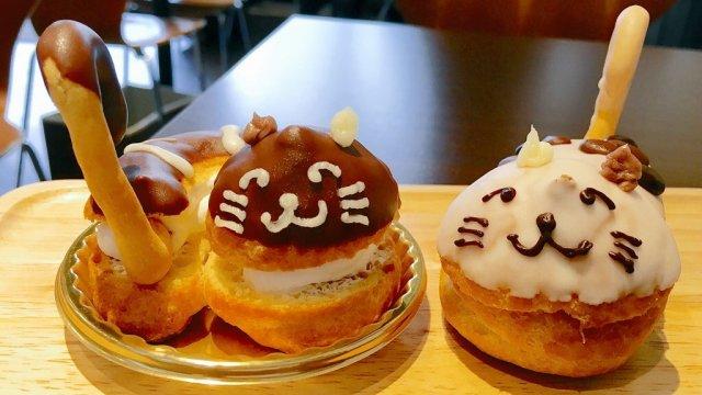 猫好きは絶対に行くべき!かわいい猫スイーツに癒されるカフェ