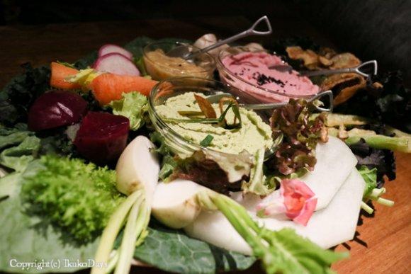 いっぱい食べても胃もたれなし!オーガニック野菜を心ゆくまで楽しめる店