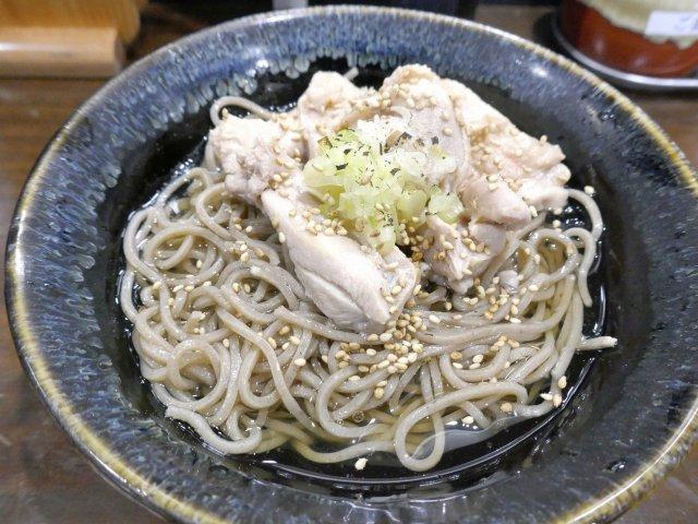 平成最後の年越しそばにオススメ!塩そば専門店の「冷し塩鶏そば」が旨い