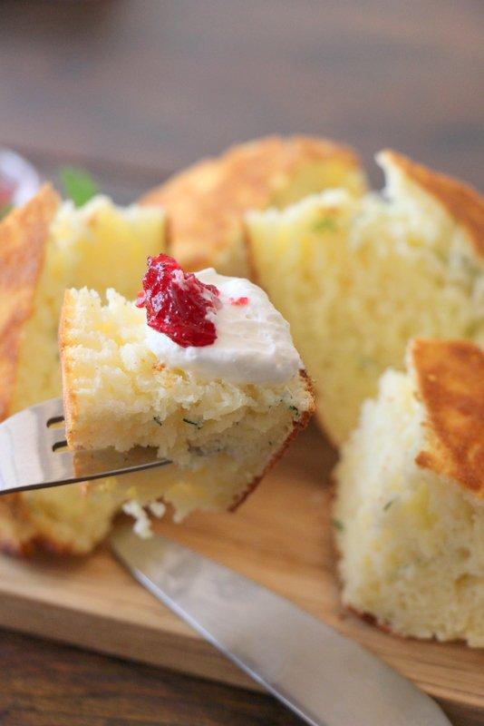 【高円寺】カリッふわっの食感が美味しい、ハーブのパンケーキ