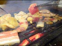予約必須!90分1,000円(税抜)の炭火焼肉ランチビュッフェ