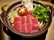 吟醸酒を使った鍋!?日本酒専門店の「塩生姜の吟醸ねぎま鍋」