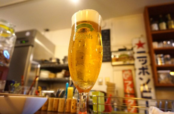 酒場案内人が月2~3回訪れる!徹底的にこだわった生ビールを味わえる店