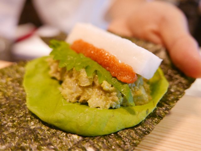 糖質控えめ!カリフラワーライスを使った手巻き寿司が食べられる話題の店