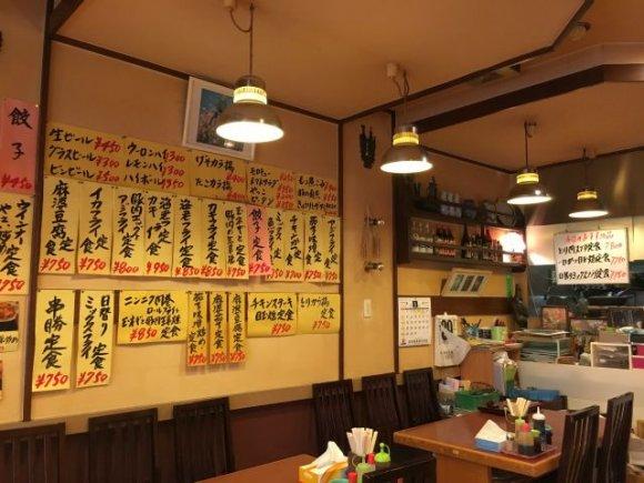 何を食べても安い!セットメニューが豊富な、元中華屋さんが営む洋食屋