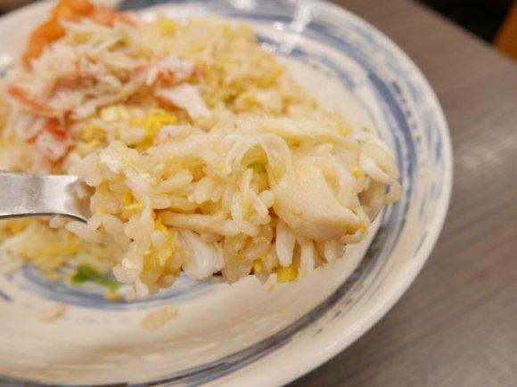 【まるさん亭】最強の組み合せ!朝市の新鮮な蟹のチャーハンと蟹汁が凄い