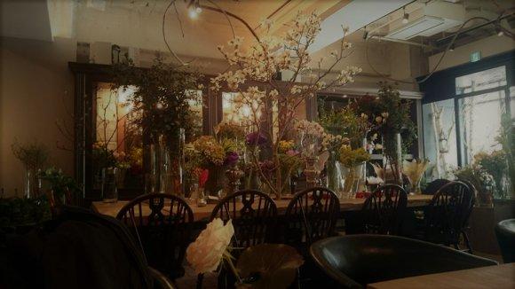 お花屋さんだけどカフェ!本格イタリアンが味わえるお店のパスタランチ
