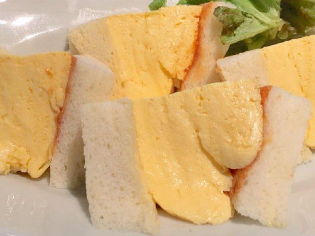 8cm以上の超極厚!京都の「伝説の玉子サンド」を東京で@神楽坂ラカグ