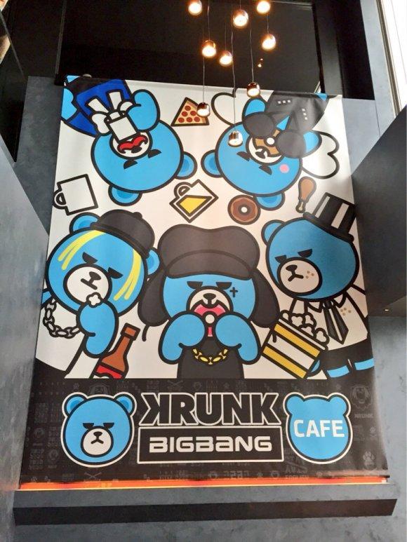 人気沸騰!KRUNK×BIGBANG CAFEに行ってきた