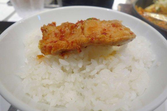ごはんがススム!ボリューム満点・アキバ限定の赤トンテキ定食