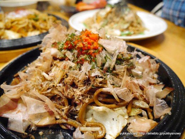 自家製麺の焼きそば食べ放題に飲み放題!おつまみ付で3500円は超破格