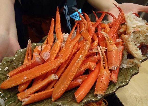 タラバに毛蟹にズワイ蟹!蟹三昧な名店・蟹喰楽舞に別館が誕生