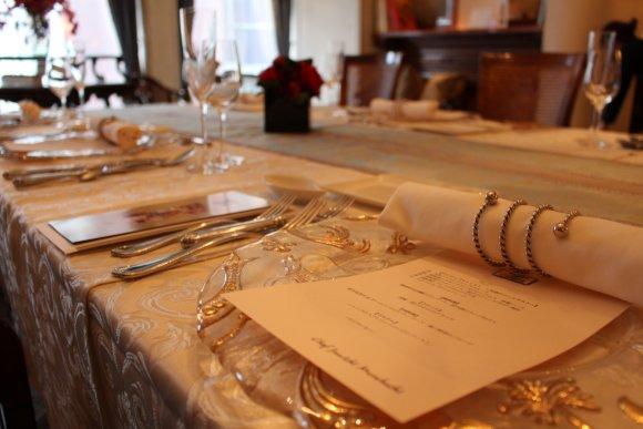 【銀座】晩餐会の様なゴージャス空間での女子会はいかが?