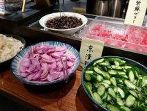 """京都の味を好きなだけ!お漬物ビュッフェ""""京のおまわり""""付の定食ランチ"""