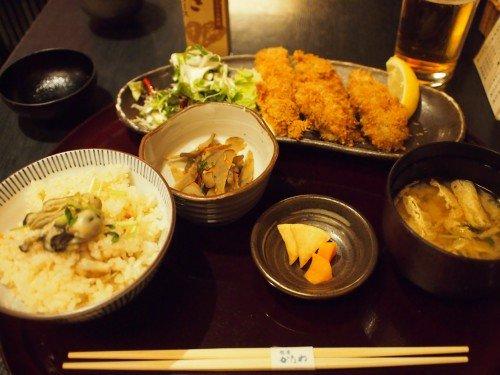 【銀座】創業140年!広島老舗牡蠣料理店のカキフライランチ