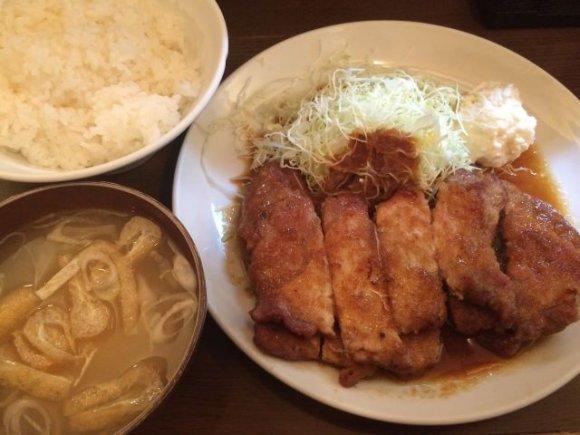 愛情を感じる極厚生姜焼が頂ける洋食店「キッチン早苗」-中野