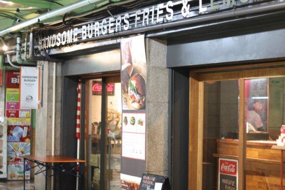 【ハンサムバーガー】本格グルメバーガーがリーズナブルに味わえるお店