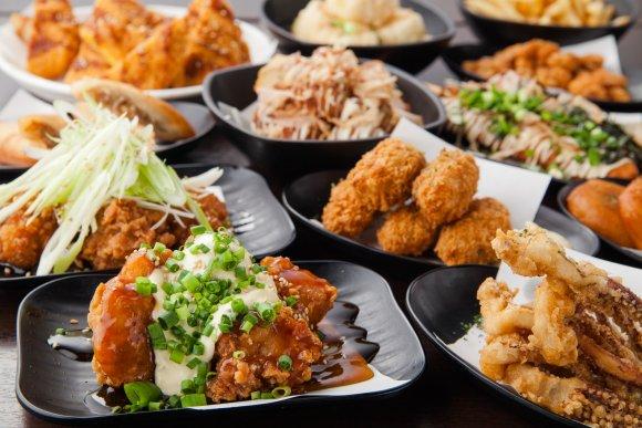 上野で発見!飲み放題付全70品食べ放題が2時間2000円の最強コスパ