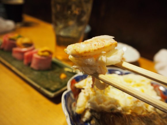 『かねます』で冬の味覚を満喫!蟹を衝撃的に満喫出来るカニサラダが旨い