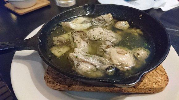 のび~るマッシュポテト「アリゴ」がめちゃ美味!!恵比寿駅近のビストロ
