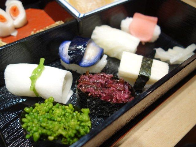 【京都・祇園】彩り鮮やかで美しい♪「西利」の京漬物点心