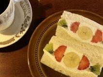 週末限定のフルーツサンドも人気!秘密にしたくなるようなくつろぎカフェ