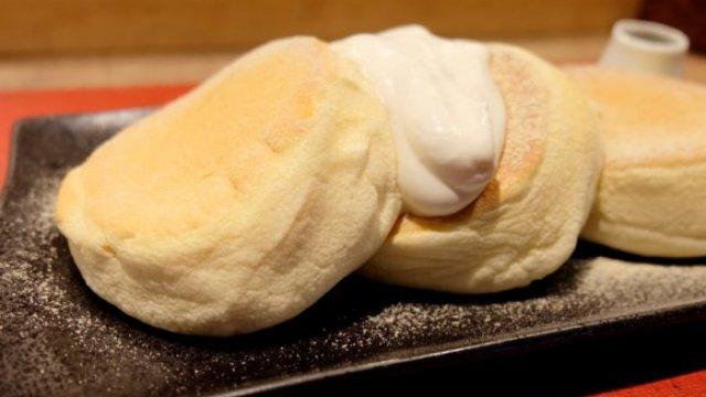 米粉パンケーキ飯テロ