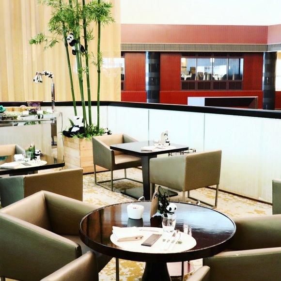 抹茶とパンダの共演!人気ホテルのかわいすぎる「抹茶スイーツブッフェ」