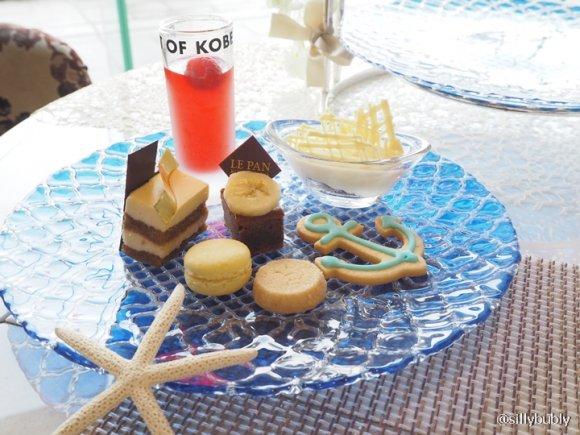 夏にぴったりな爽やかさ!神戸の風景が凝縮された贅沢アフタヌーンティー