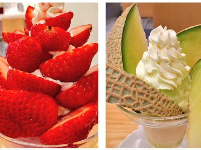 3種の苺にメロン!浅草の人気パーラーで旬の果物を食べ尽くす