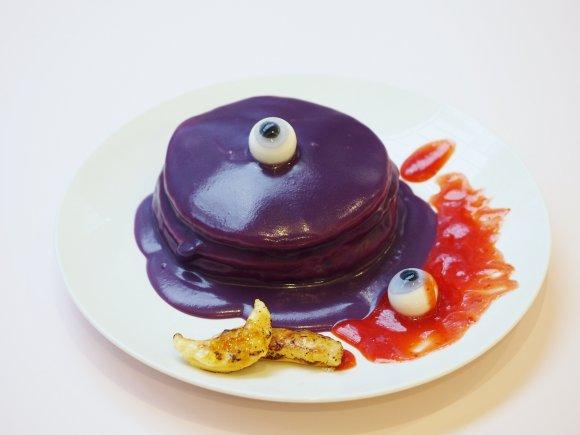 衝撃的ビジュアル!ハロウィン限定・2種のゾンビパンケーキ!