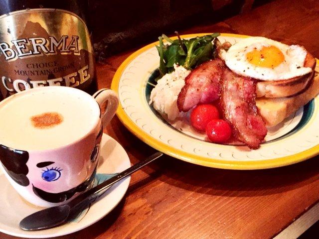 渋谷の隠れ家カフェでゆったり味わえる!美しき理想の朝ごはん