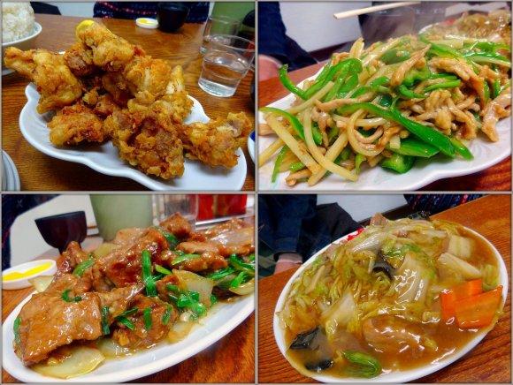 ライスは大盛りで!伝説の大盛中華料理店のライスホイホイな「C定食」